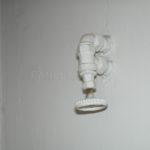 Detail původního ventilu stěnového vytápění