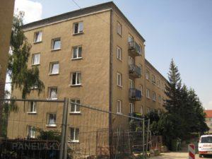 První panelák v Brně