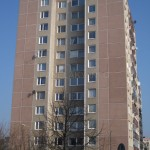 Štít s okny bytu č. 5