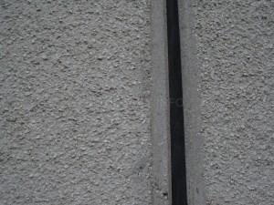 Detail spáry a fasády