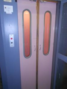 Novější typ výtahu