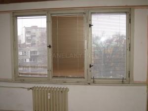 Ideální stav je okno v prázdem bytě nebo těsně před výměnou - tedy odstrojené