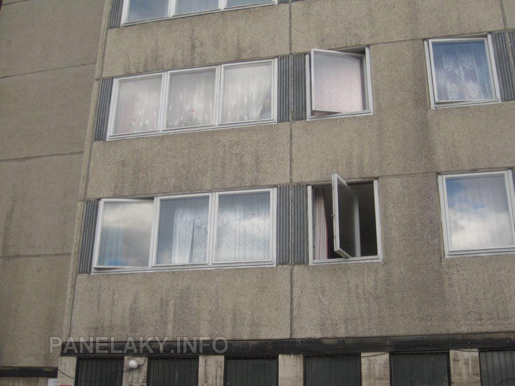 Detail původních oken